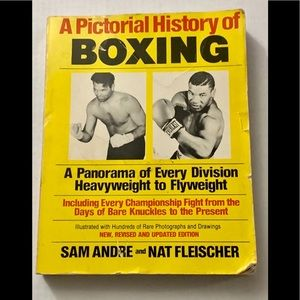 PICTORIAL HISTORY OF BOXING HEAVYWEIGHT/FLYWEIGHT